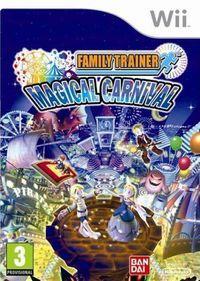 Portada oficial de Family Trainer Magical Carnival para Wii