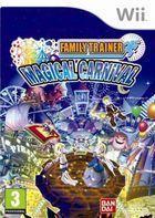 Portada oficial de de Family Trainer Magical Carnival para Wii
