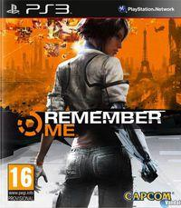 Portada oficial de Remember Me para PS3