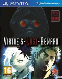 Portada oficial de Zero Escape: Virtue's Last Reward PSN para PSVITA