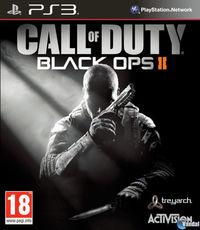 Portada oficial de Call of Duty: Black Ops II para PS3