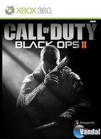 Portada oficial de Call of Duty: Black Ops II para Xbox 360
