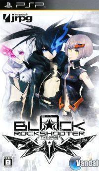Portada oficial de Black Rock Shooter The Game PSN para PSP