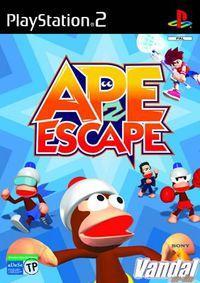 Portada oficial de Ape Escape 2 para PS2