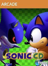 Portada oficial de Sonic CD XBLA para Xbox 360