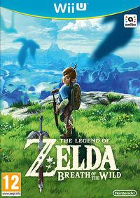 Portada oficial de The Legend of Zelda: Breath of the Wild para Wii U