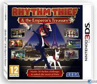 Portada oficial de Rhythm Thief y el Misterio del Emperador para Nintendo 3DS