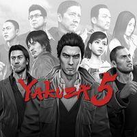 Portada oficial de Yakuza 5 PSN para PS3