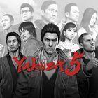 Portada oficial de de Yakuza 5 PSN para PS3