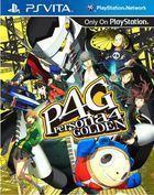 Portada oficial de de Persona 4 Golden para PSVITA