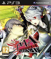 Portada oficial de Persona 4 Arena para PS3