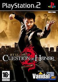 Portada oficial de Cuestión de Honor para PS2