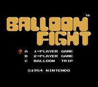 Portada oficial de Balloon Fight CV para Nintendo 3DS