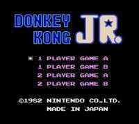 Portada oficial de Donkey Kong Jr. CV para Nintendo 3DS