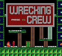 Portada oficial de Wrecking Crew CV para Nintendo 3DS