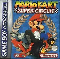 Portada oficial de Mario Kart Super Circuit para Game Boy Advance