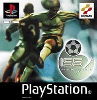 Portada oficial de ISS Pro Evolution para PS One