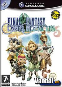 Portada oficial de Final Fantasy: Crystal Chronicles para GameCube