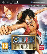 Portada oficial de One Piece: Pirate Warriors para PS3