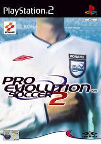 Portada oficial de Pro Evolution Soccer 2 para PS2