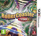 Portada oficial de de RollerCoaster Tycoon 3D para Nintendo 3DS