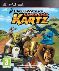 Portada oficial de DreamWorks Super Star Kartz para PS3
