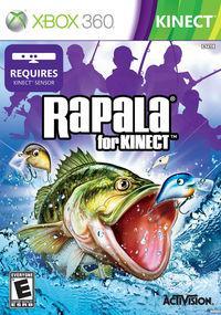 Portada oficial de Rapala for Kinect para Xbox 360