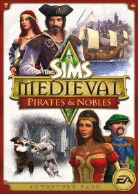 Portada oficial de Los Sims Medieval: Piratas y Caballeros  para PC