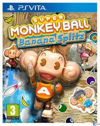 Portada oficial de Super Monkey Ball Banana Splitz para PSVITA