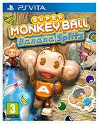 Portada oficial de de Super Monkey Ball Banana Splitz para PSVITA