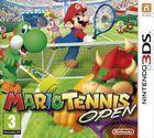 Portada oficial de de Mario Tennis Open para Nintendo 3DS