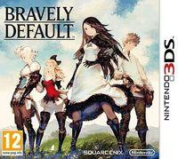 Portada oficial de Bravely Default: Where the Fairy Flies para Nintendo 3DS