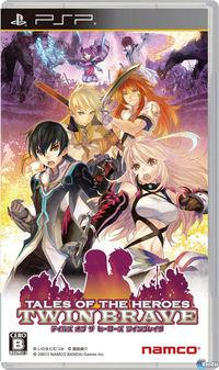 Portada oficial de Tales of the Heroes: The Twin Brave para PSP