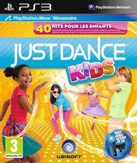 Portada oficial de Just Dance Kids para PS3