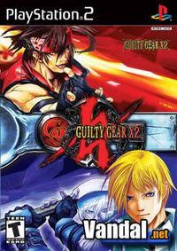 Portada oficial de Guilty Gear X2 para PS2