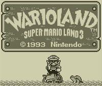 Portada oficial de Wario Land: Super Mario Land 3 CV para Nintendo 3DS