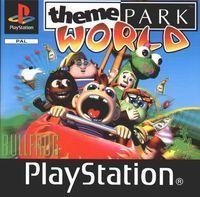 Portada oficial de Theme Park World para PS One