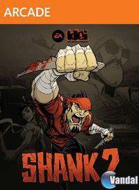 Portada oficial de Shank 2 XBLA para Xbox 360