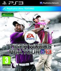 Portada oficial de Tiger Woods PGA Tour 13 para PS3