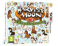 Portada oficial de Harvest Moon: A New Beginning eShop para Nintendo 3DS