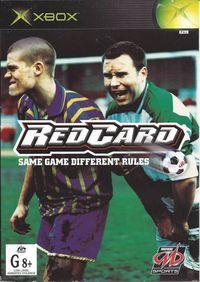 Portada oficial de Red Card Soccer para Xbox