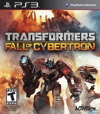 Portada oficial de Transformers: Fall Of Cybertron para PS3