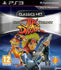 Portada oficial de The Jak and Daxter Trilogy para PS3