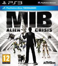 Portada oficial de Men in Black: Alien Crisis para PS3