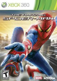 Portada oficial de The Amazing Spider-Man para Xbox 360