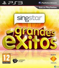 Portada oficial de SingStar Grandes Éxitos para PS3