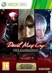 Portada oficial de Devil May Cry HD Collection para Xbox 360