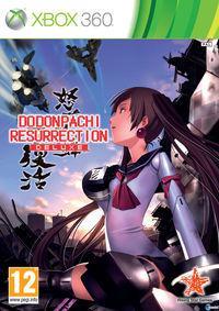 Portada oficial de DoDonPachi Resurrection Deluxe para Xbox 360