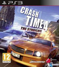 Portada oficial de Crash Time 4: The Syndicate para PS3