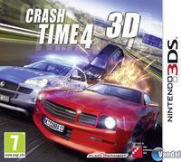 Portada oficial de Crash Time 4 3D para Nintendo 3DS